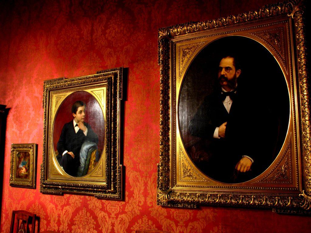 Ritratti del Salotto Rosso