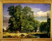 Veduta del Prater di Vienna - Joseph Werner