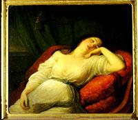 Fanciulla dormiente - Natale Schiavoni